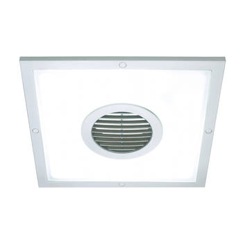 Heller 250mm 2 In 1 Ceiling Light & Exhaust Fan