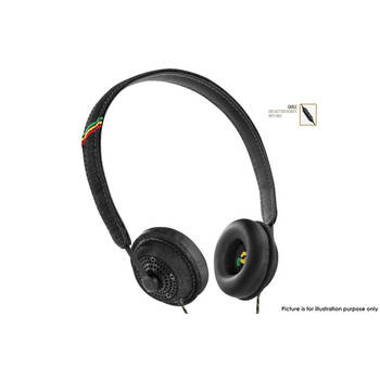 Marley Em-Jh041-Mi Harambe Midnight On-Ear Headphones Remote With Mic Black