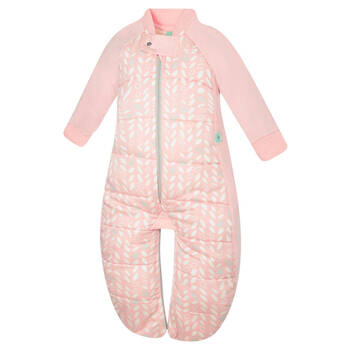 Sleep Suit Bag TOG:2.5 Size: 8-24 Months - Spring Leaves