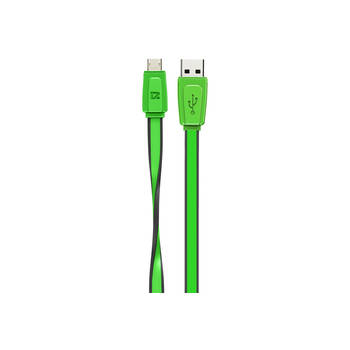 Green Extreme Charge & Sync Micro Usb Cable 1M 2.4Amp For Htc/Samsung/Sony