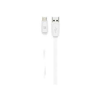 White Extreme Charge & Sync Micro Usb Cable 1M 2.4Amp For Htc/Samsung/Sony