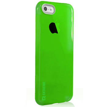Slim Green Transparent Flexible Shock Resistant Cover Case For IPhone 6 Plus & 6S + 5.5""