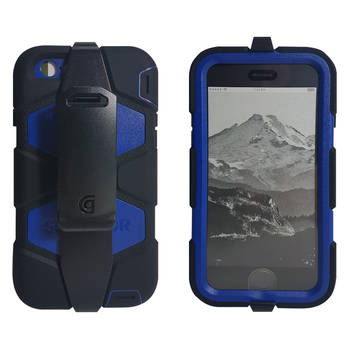 Griffin Blue Survivor All-Terrain Heavy Duty Tough Shock Case For IPhone 6/6S