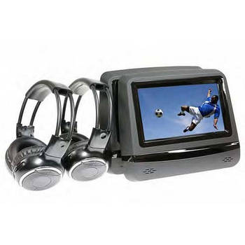 "Gator 2 x 7"" HD Multimedia Player w/ 2x Wireless Headphones"