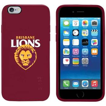 Gecko AFL Brisbane Lions Team Cover for iPhone 6/6