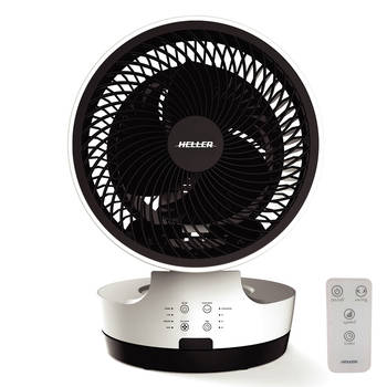 40w Heller 3 Speed Circulator Round Fan 20cm