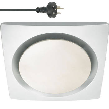 25cm Square Ceiling Exhaust Fan w/Outlet Duct