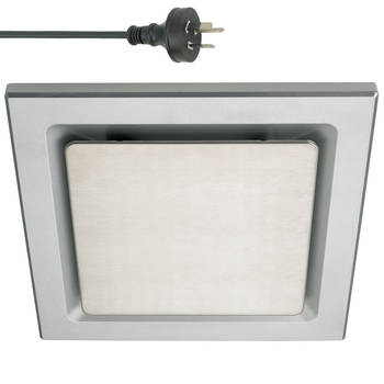 250Mm Ducted Exhaust Fan - Silver