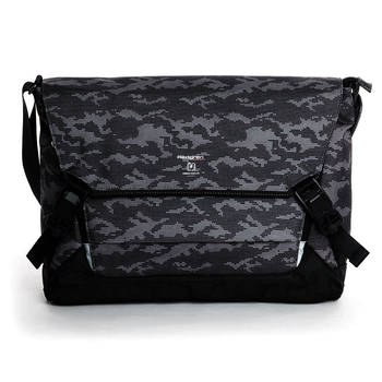 Hedgren Link Tie Camo Messenger Bag