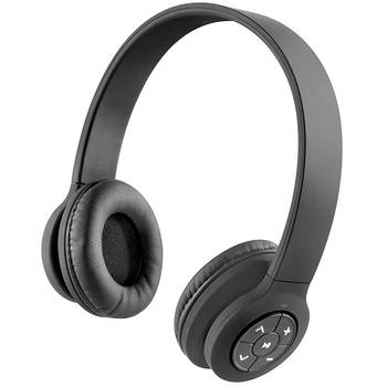 Jam Transit Wired/Wireless Bluetooth Headphones w/ Mic -Black