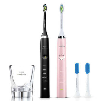 2PK Philips Sonicare DiamondClean Electric Toothbrush