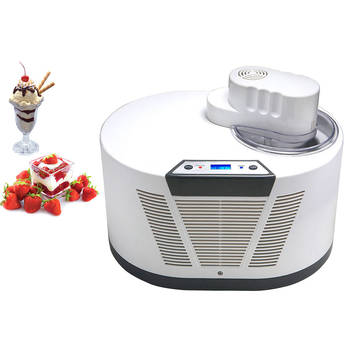 1L 1H Fresh Ice Cream Maker/Slushy Drinks/Sorbet/Frozen Yogurt/ With Compressor