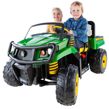 John Deere Gator XUV 550 Electric Battery Ride On Toy Car Tractor Kids Children
