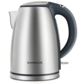 Kambrook KSK210 Profile Stainless Steel 1.7L Cordless Kettle w/ Water Filter