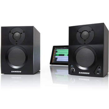 Samson Mediaone Bt3 30W Rms Wireless Bluetooth Active Studio Monitors 2 Speakers