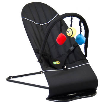 Vee Bee Baby Minder Bouncer - Black