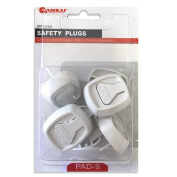 6pc Baby/Child Power Point Safety Plugs/NZ/AU