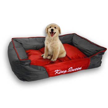 60cm Medium  Pet Bed w/ Reversible Cushion