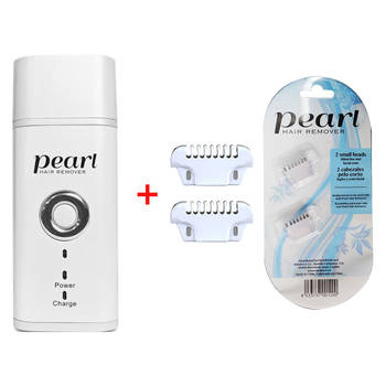Pearl Hair Remover Kit w/ 4 Replacement Heads