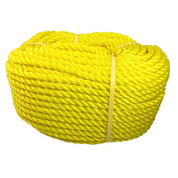Polypropylene Poly Rope Yellow