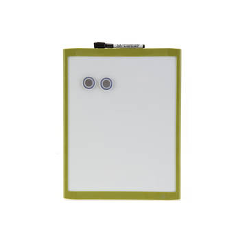 28X36Cm Green Wall Mountable Magnetic Whiteboard/Picture Frame W/Marker/Magnet