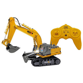 Tractor Excavator Digger Toy - RC Remote Controlle