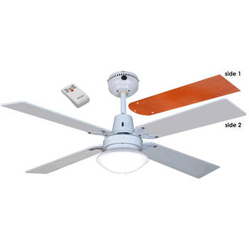 Sienna Ceiling Fan w/ Light and Remote Control