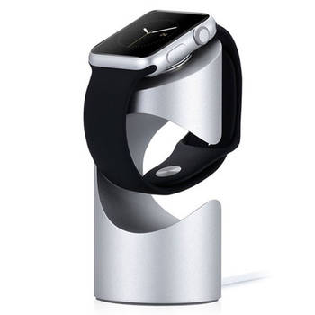 Just Mobile Silver Time Stand Holder for Apple Wat