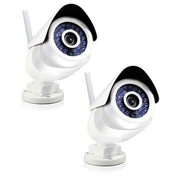 2x Swann Smart Home SoundView Outdoor Camera