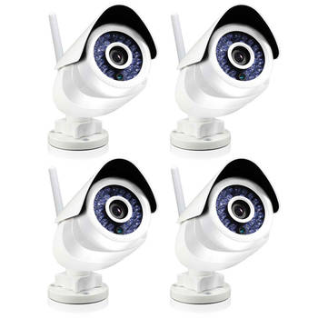4x Swann Smart Home SoundView Outdoor Camera