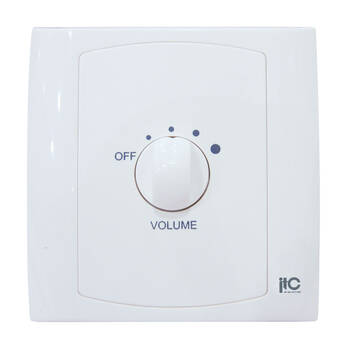 5 Setting Wall Plate In-Wall 40w Speaker Control Volume Transformer Switch