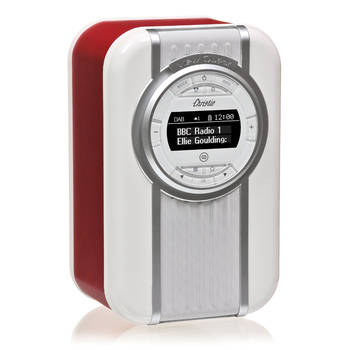 Red View Quest Christie DAB+ FM Digital Radio/AUX/LED Bluetooth Portable Speaker