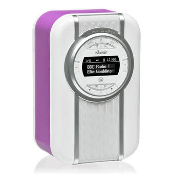 Orchid View Quest Christie DAB+ FM Digital Radio/LED Bluetooth Portable Speaker