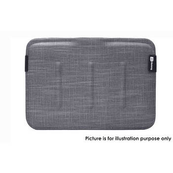 "Booq Vsl13-Gry Viper Sleeve 13"" Fits Macbook Air/Pro 13 Inch Laptop Jute Grey"