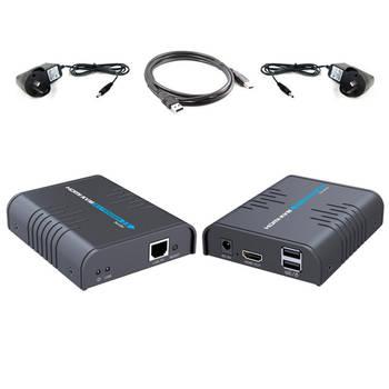HDMI KVM  Over Single CAT5/5e/CAT6 Extender for TV