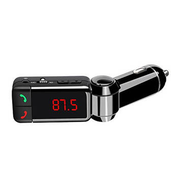 Fm Transmitter Car Wireless Bluetooth Music/Handsfree Calls For Iphone/Android