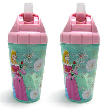 Disney Princess Insulated Straw Cup 2 Pack