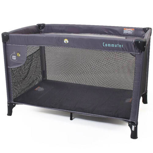 Vee Bee Commuter Cot - Charcoal
